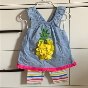 Mud Pie Baby Outfit NWT